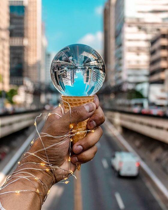 (PROMOÇÃO) Bola de Cristal para Fotografia 50mm (NOVA)