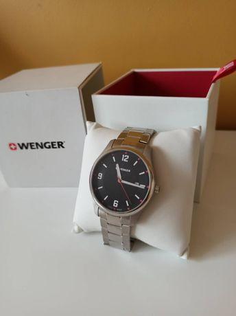 Nowy oryginalny zegarek Wenger szwajcarski