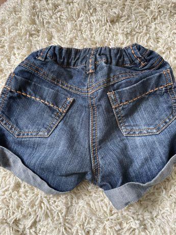 Шорты джинс 3-4 года девочка