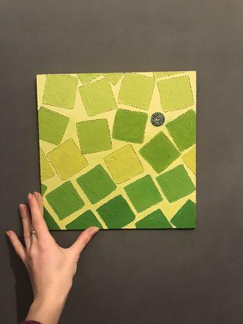 Картина « квадрат «
