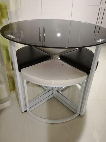 Mesa cozinha rendonda