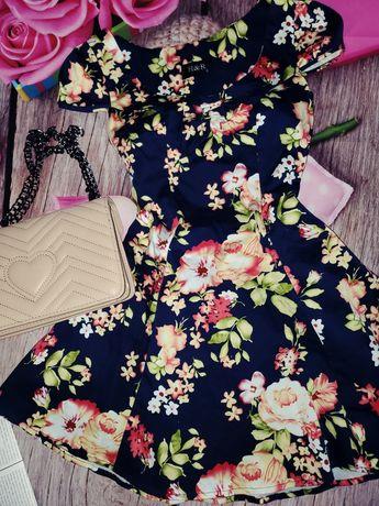 Красивое платье джинс стрейч