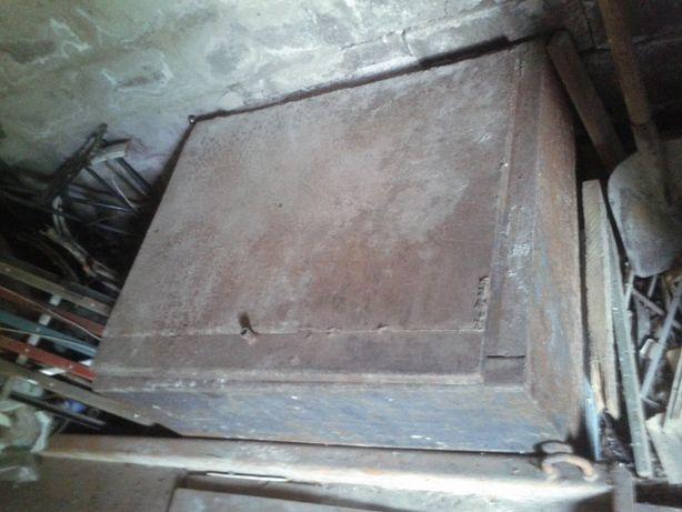 Шкаф металлический (сейф) 1000х800х540 мм, сталь 2,5-2,0 мм