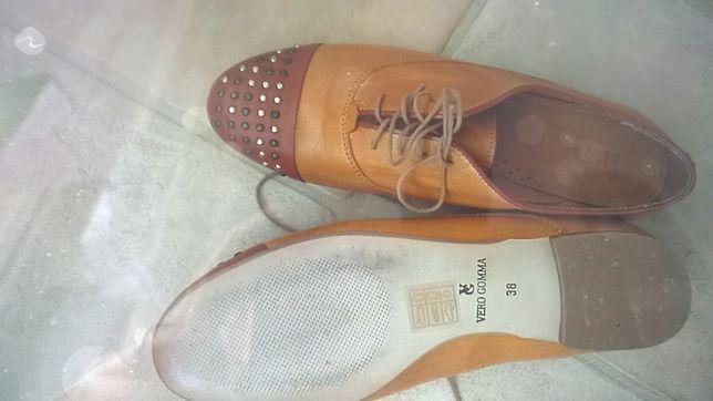 Skórzane buty rozmiar 38