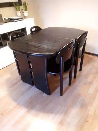 Conjunto de mesa e cadeiras pinho maciço