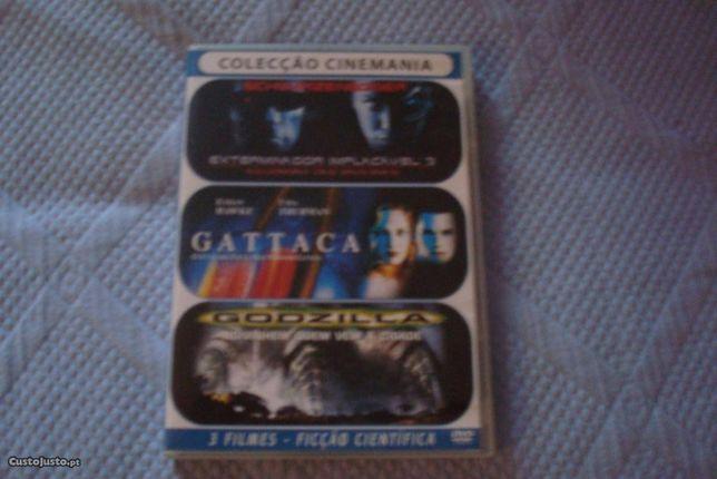pack original 3 filmes açao
