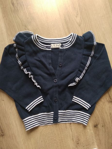 Sweterek Next 86 Dziewczynka