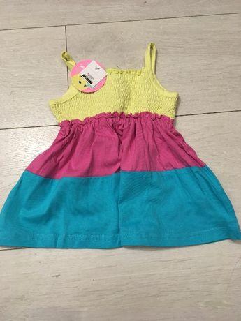 2 NOWE_SMYK sukienki niemowlęce rozm 62