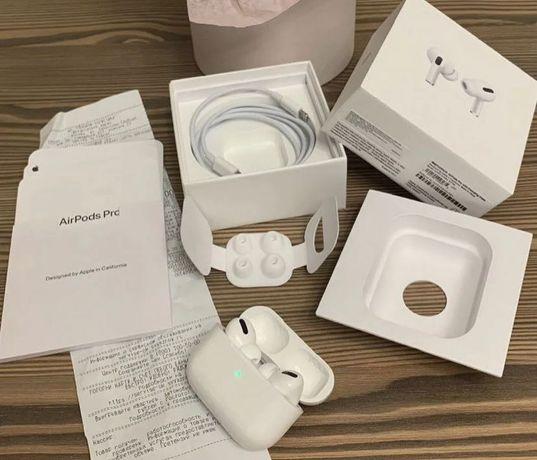 Аірподс Про навушники Аирподс Airpods с гарантией Bluetooth подарок