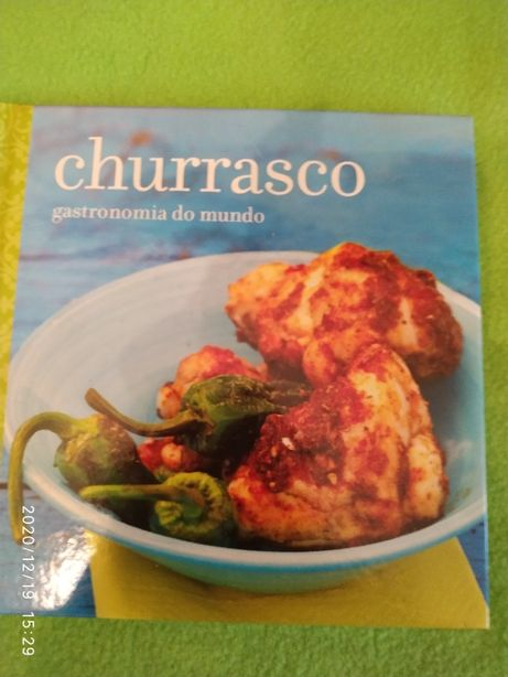 """Livro """"Churrasco - Gastronomia do Mundo"""""""