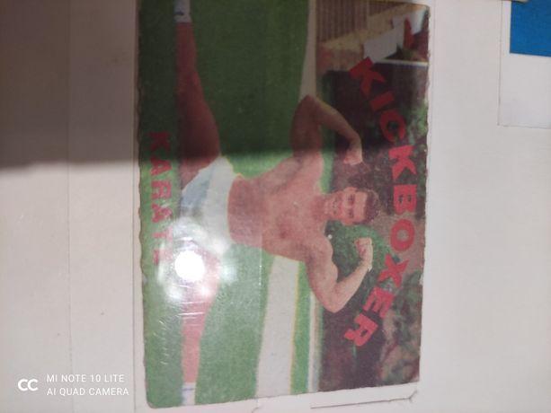 Коллекция картонных карточек Karate Kickboxer