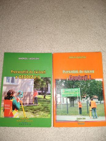 Książki do geodezji cz. 1 i 2
