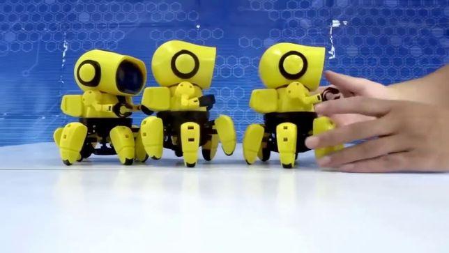 Интерактивный Tobi робот конструктор паук Ваш очаровательный друг! ТОП