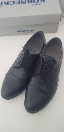 Kornecki buty dla chłopca 36 komunia