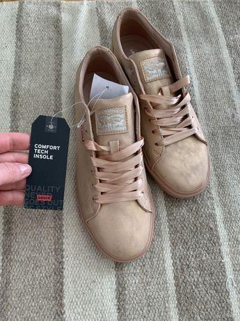 Trampki buty sportowe levis różowe adidasy sneakersy rozmiar 40 nowe