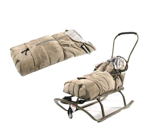 Śpiwór do wózka lub na sanki JAK NOWY