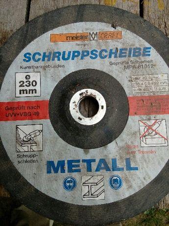tarcza do szlifowania metalu 230mm