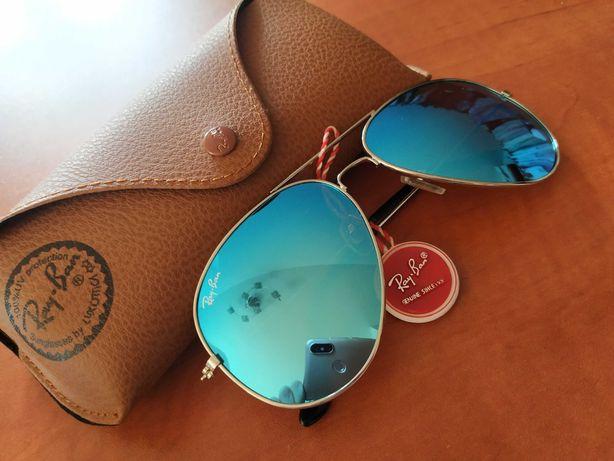 Ray ban okulary przeciwsłoneczne nowe aviator pilotki
