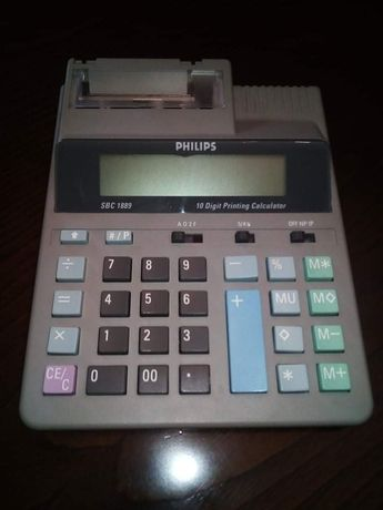 Máquina registadora/calculadora