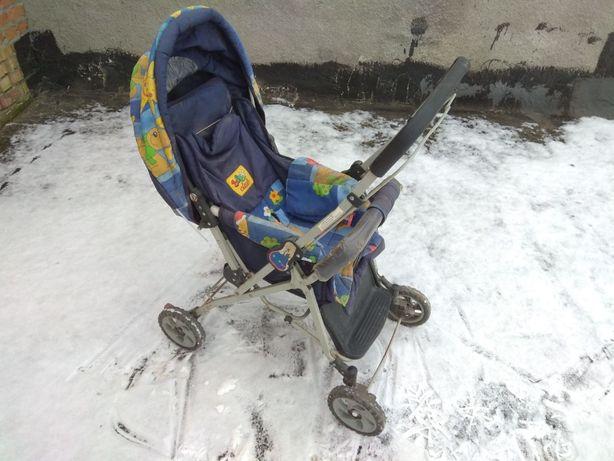 Каляска Baby Club з перекидною ручкою возик каляска