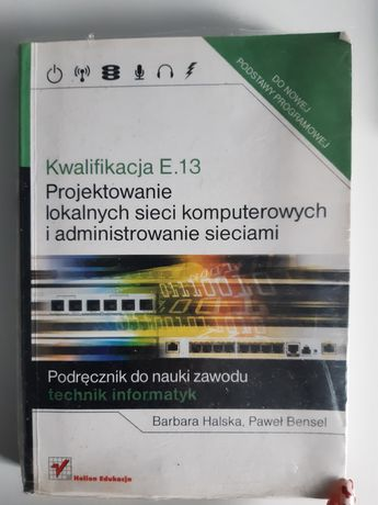 Książka egzamin zawodowy - projektowanie sieci komputerowych
