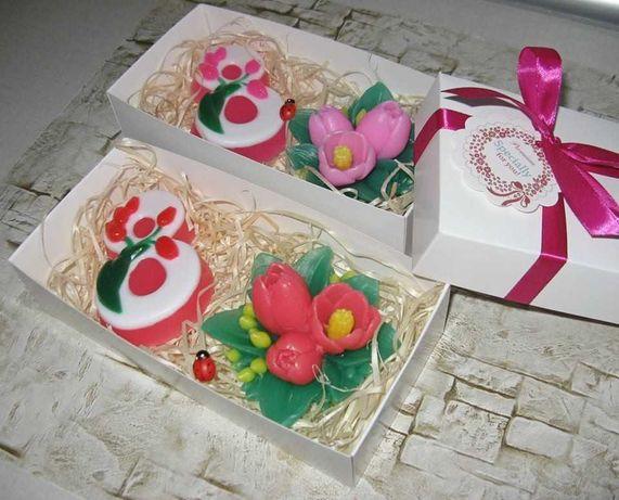 Подарок на 8 марта. набор сувенирного мыла