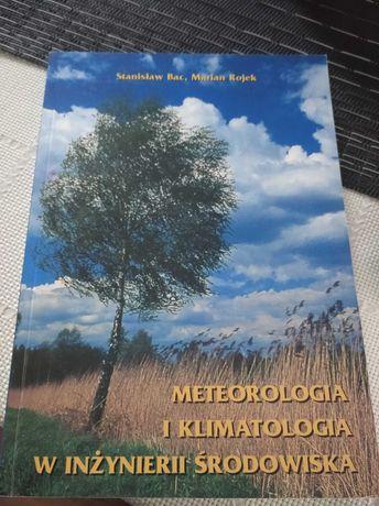 Książka Meteorologia i klimatologia w inżynierii środowiska