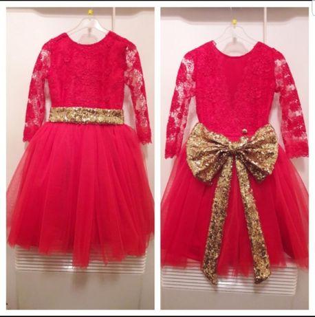 Платье праздничное, нарядное, 2-4 года