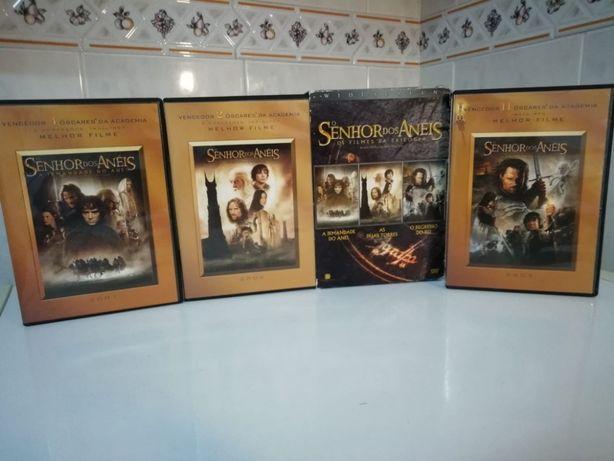 3 Filmes Originais Novos O Senhor Dos Anéis