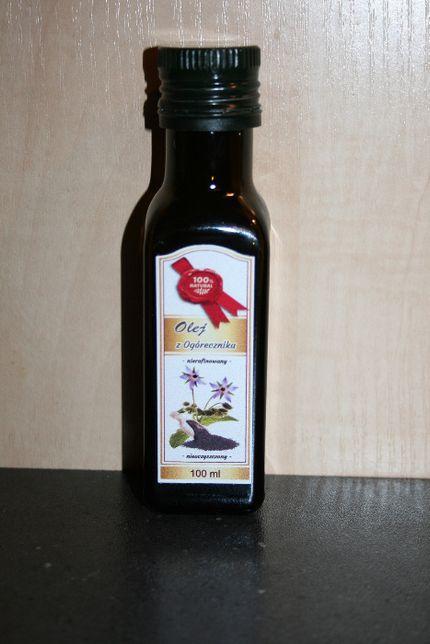 Olej z ogórecznika lekarskiego