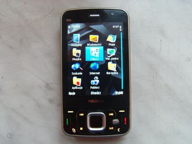 Nokia N96 Made in Finland, bez sim-locka.