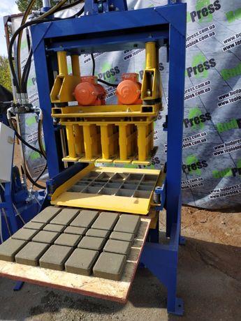 Вибропресс ВП-1000 для производства тротуарной плитки, блока, бордюра