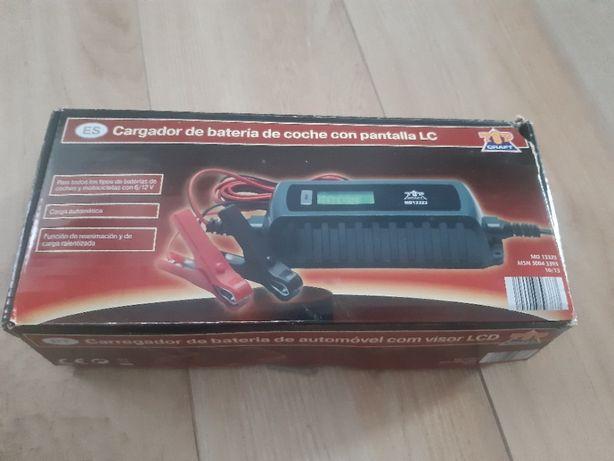Prostownik impulsowy TOP CRAFT MD 13323 ładowarka akumulatorowa 12V 6V