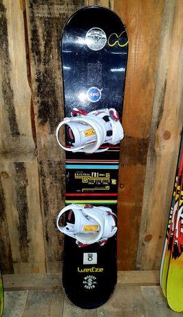 Snowboard dziecięcy Wedze 130 cm