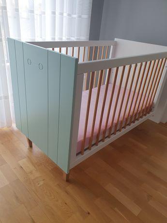 Łóżeczko dziecięce z zestawu Minky Cube