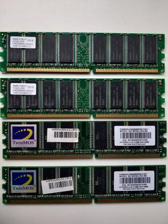 Память Hynix DDR 512Mb PC3200 DDR-400MHz-512MB