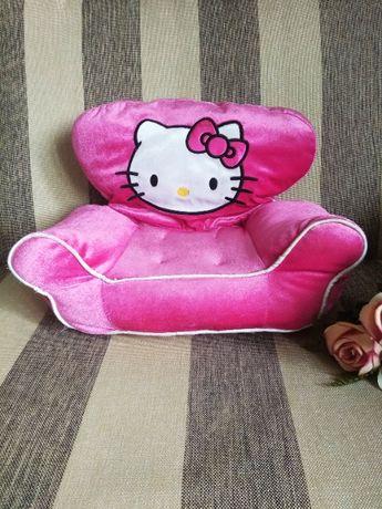 Мягкое кресло-подушка Hello Kitty