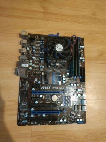 Комплект MSI 970A-G43+ AMD Athlon x4 640 + 8gb RAM DDR3