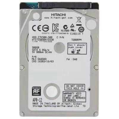 "Накопитель HDD 2.5"" SATA 500GB Hitachi (HGST) Travelstar Z7K500 7200rp"