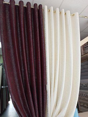 Декоративні штори на люверсах