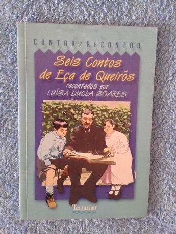 """LIVRO """"6 contos Eça de Queiroz"""""""