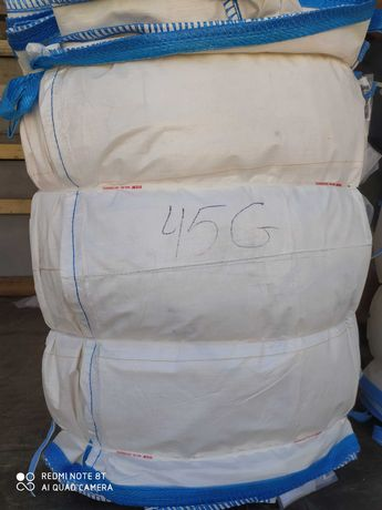 big bag 90/90/110 cm używany czysty worek na paszę/nawozy/zboża