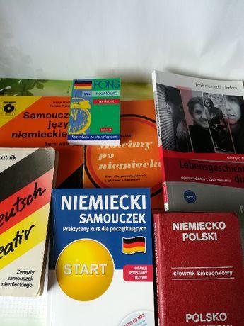 książki do niemieckiego zestaw + płyta