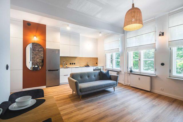 Mieszkanie, kawalerka na wynajem, Katowice-Nikiszowiec,wysoki standard