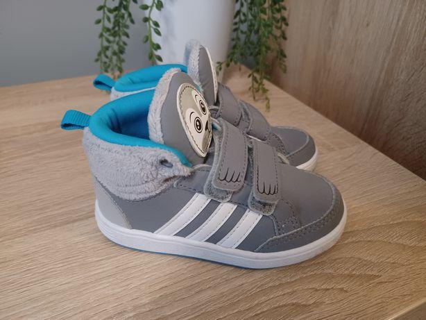 Buciki buty adidas r. 23 foka foczka rzepy