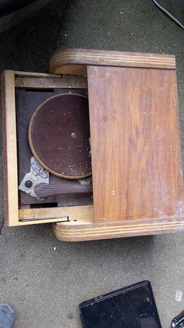 Gramofon retro drewniany  nie sprawny