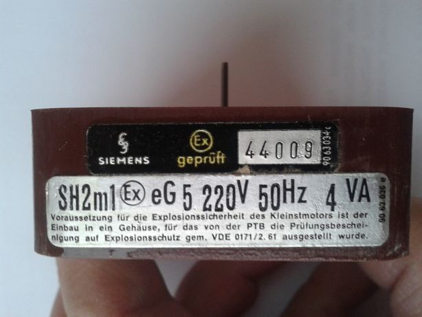 Silnik SH2m1 4 VA Siemens