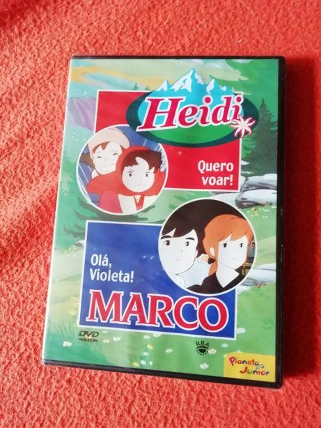 DVD Heidi e Marco