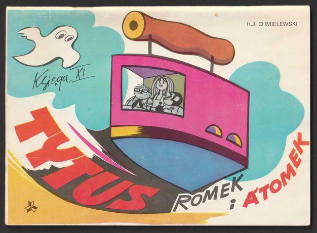 komiks Tytus Romek i Atomek - KSIĘGA XI - 1983 - HJ Chmielewski