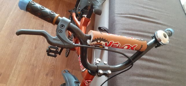 Коричневый 16д велосипед